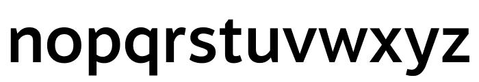 Motiva Sans Bold Italic Font LOWERCASE