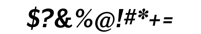 Mr Eaves Mod OT Bold Italic Font OTHER CHARS