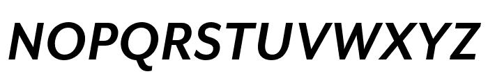 Mr Eaves Mod OT Bold Italic Font UPPERCASE