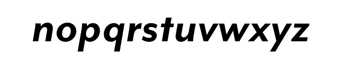 Mr Eaves Mod OT Bold Italic Font LOWERCASE