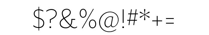 Mr Eaves San OT Light Font OTHER CHARS