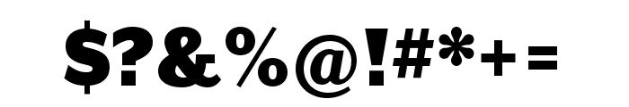 Mr Eaves XL Mod Nar OT Ultra Font OTHER CHARS