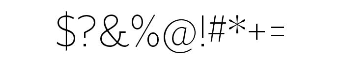 Mr Eaves XL Mod OT Light Font OTHER CHARS