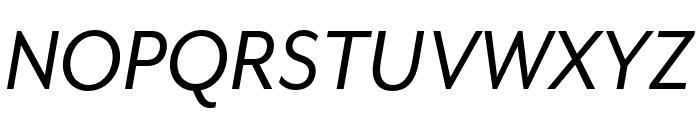 Mr Eaves XL Mod OT Reg Italic Font UPPERCASE