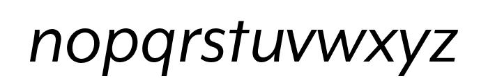 Mr Eaves XL Mod OT Reg Italic Font LOWERCASE