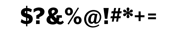 Mr Eaves XL San Nar OT Heavy Font OTHER CHARS