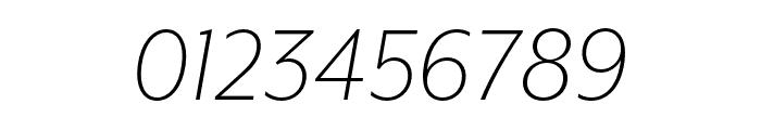 Mr Eaves XL San Nar OT Light Italic Font OTHER CHARS