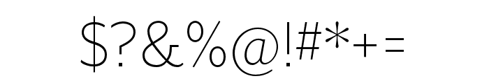 Mr Eaves XL San OT Light Font OTHER CHARS
