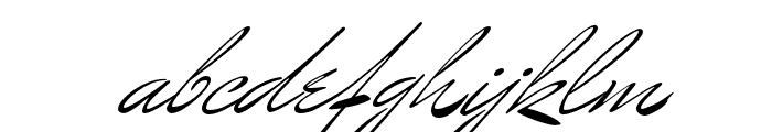 MrBenedict Pro Regular Font LOWERCASE