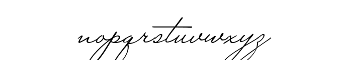MrCanfields Pro Regular Font LOWERCASE