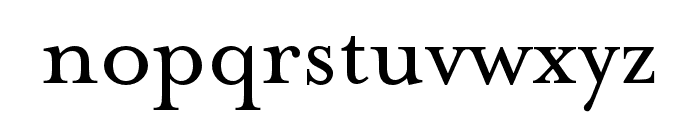 Mrs Eaves Roman All Small Caps Font LOWERCASE