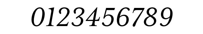 Mrs Eaves XL Serif OT Reg Italic Font OTHER CHARS