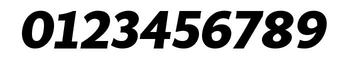 MultiDisplay Bold Italic Font OTHER CHARS