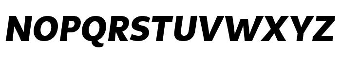 MultiDisplay Bold Italic Font UPPERCASE