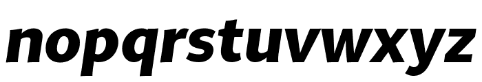 MultiDisplay Bold Italic Font LOWERCASE