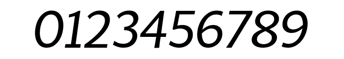 MultiDisplay Regular Italic Font OTHER CHARS