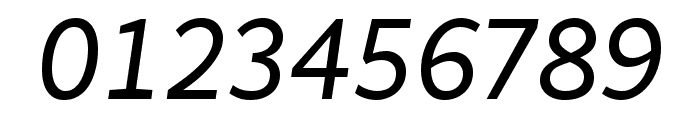 MultiText Regular Italic Font OTHER CHARS