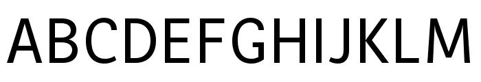 MultiText Regular Font UPPERCASE