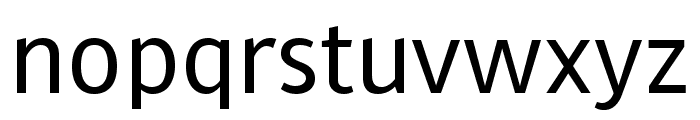 MultiText Regular Font LOWERCASE