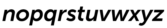 Museo Sans Cond 700 Italic Font LOWERCASE