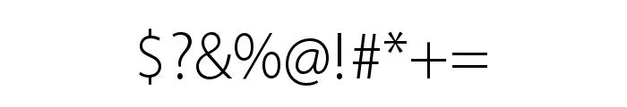 Myriad Arabic Black Italic Font OTHER CHARS