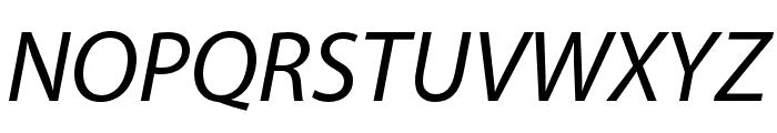 Myriad Bengali Italic Font UPPERCASE