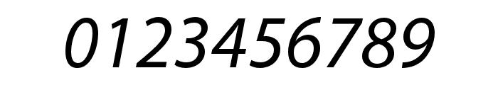 Myriad Devanagari Italic Font OTHER CHARS