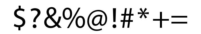Myriad Devanagari Regular Font OTHER CHARS