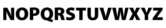 Myriad Pro Black Condensed Font UPPERCASE