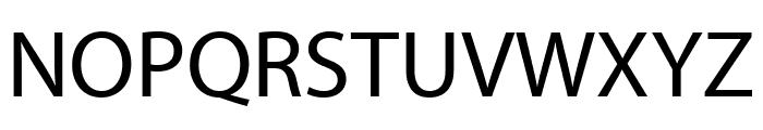 Myriad Pro Condensed Font UPPERCASE