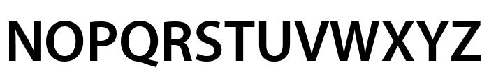 Myriad Pro Semibold Condensed Font UPPERCASE