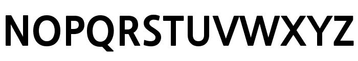 NanumGothic ExtraBold Font UPPERCASE