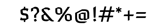 Naresuan Regular Font OTHER CHARS