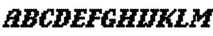 Narly OT Inline Font UPPERCASE