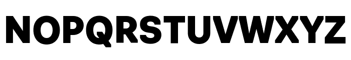 Navigo Black Font UPPERCASE