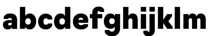 Navigo Black Font LOWERCASE