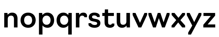 Navigo Medium Font LOWERCASE