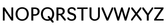 Navigo Regular Font UPPERCASE