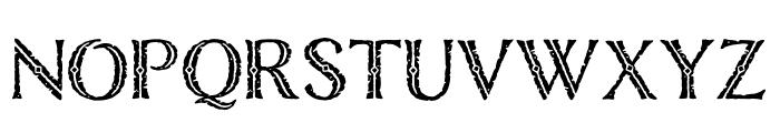 Nelson Engraved Regular Font UPPERCASE