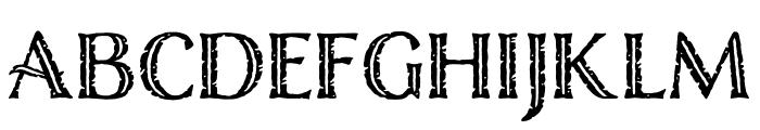 Nelson Engraved Regular Font LOWERCASE