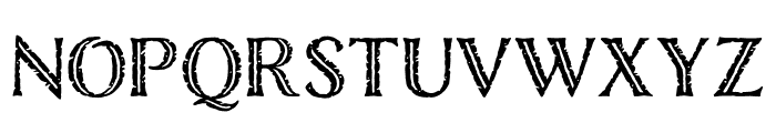Nelson Rugged Regular Font LOWERCASE