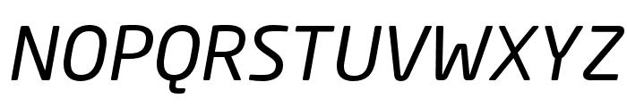 Neo Sans W1G Italic Font UPPERCASE