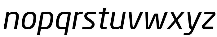 Neo Sans W1G Italic Font LOWERCASE
