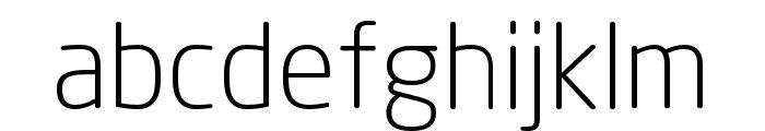 Neo Sans W1G Light Font LOWERCASE