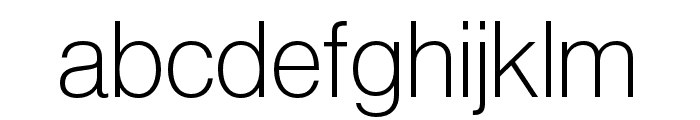 Neue Haas Grotesk Display Pro 35 Extra Light Font LOWERCASE