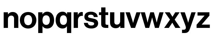 Neue Haas Grotesk Display Pro 65 Medium Font LOWERCASE