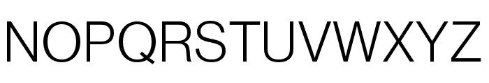 Neue Haas Grotesk Text Pro 55 Roman Font UPPERCASE