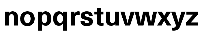 Neue Haas Unica W1G Bold Font LOWERCASE