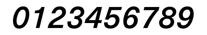 Neue Haas Unica W1G Medium Italic Font OTHER CHARS