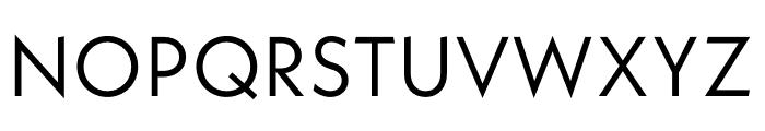Neue Kabel Regular Font UPPERCASE